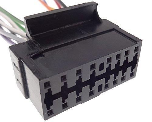 CLARION (4) câble adaptateur pour autoradio iSO cZ câble de raccordement dIN