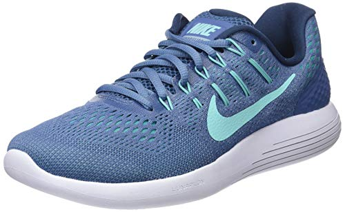 Nike 843726-400 Women Lunarglide 8 Ocean Fog Grey