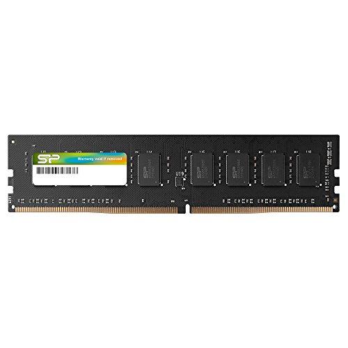 Silicon Power 8GB-DDR4-2666MHz 288-Pin CL19 1.2V Non-ECC Unbuffered-UDIMM Desktop Memory - compatibel met Intel Skylake-X Platforms/Kaby Lake-X CPU Series moederboards