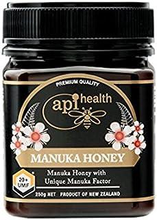アピヘルス UMFマヌカハニー蜂蜜 UMF20+ 250g (並行輸入品 海外直送品)