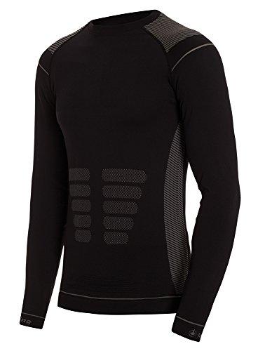 Royal Copenhagen T-Shirt Thermique Viking efer Negro-XS, S, M, L, XL M Noir