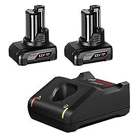 Chargeur de Bloc de Batterie Bosch Professional Gal 12V-40 +2 x GBA 6,0Ah in Karton UNI 1600A01B20 1 pc(s)