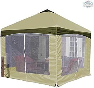 King Canopy Garden Party Canopy with Cover Olive Branch Cover/10' x10'