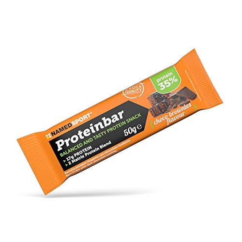 Named Sport Proteinbar Choco Brownie Barretta Proteica, 50g