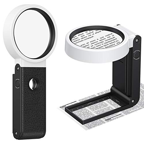 Magnifying Glass with Light 8X 25X High Magnification Hand...