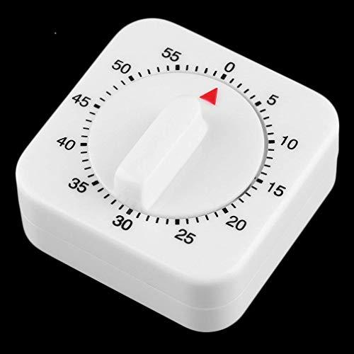 FHISD Plaza 60 minutos mecánica cocina cocina temporizador preparación alimentos hornear blanco