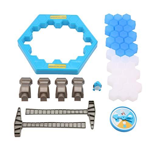 Moliies Jeu intéressant Ice Breaking Knock Sauvez Le Pingouin Grande Famille Enfants Adultes Jeu Jouets Cadeaux Puzzle Table Jeu De Bureau