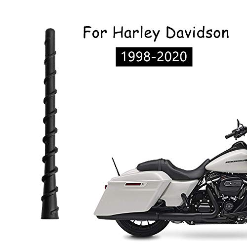 Road King or Electra Glide Road Glide The Short Antenna for Harley Davidson Motorcycles All Models Black - Will fit Any Harley Davidson Street Glide 1998-2020