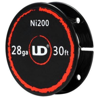 UD Youde Draht, reines Nickel, Ni200-28 AWG/0,30mm, 10-m-Spule