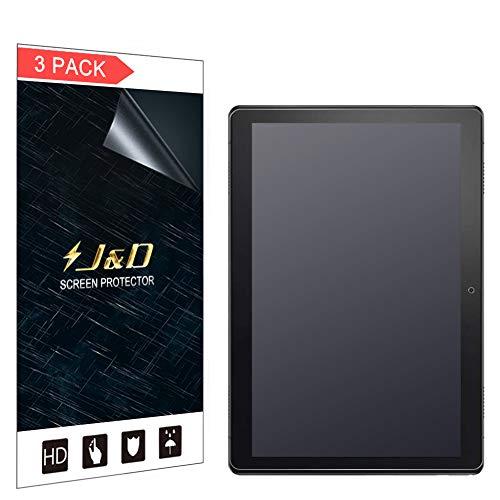 JundD Kompatibel für Lenovo Smart Tab M10 10.1 inch Schutzfolie, 3-Pack [Antireflektierend] [Nicht Ganze Deckung] Matte Folie Bildschirmschutzfolie für Lenovo Smart Tab M10 10.1 inch Bildschirmschutz