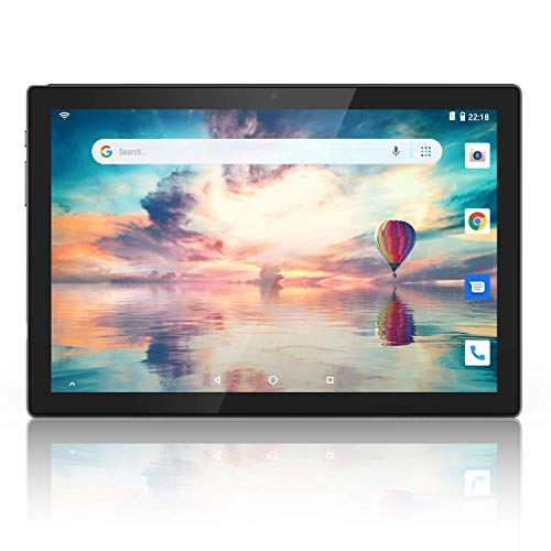 10 inch Tablet 5G Wi-Fi Octa-Core, Android 9.0 Pie, 2GB RAM, 32GB Storage, 8MP Rear Camera, 1080P IPS Full HD Display, Bluetooth 5.0, GPS, Black