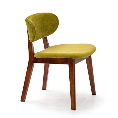 TZSJBD Silla de Madera sólida de heces Cafetería Negociación for sillas de Restaurante Mesa de Comedor Silla Silla Inicio Volver Estructura de la Silla de Madera Maciza J6B8D3 (Color : Do)