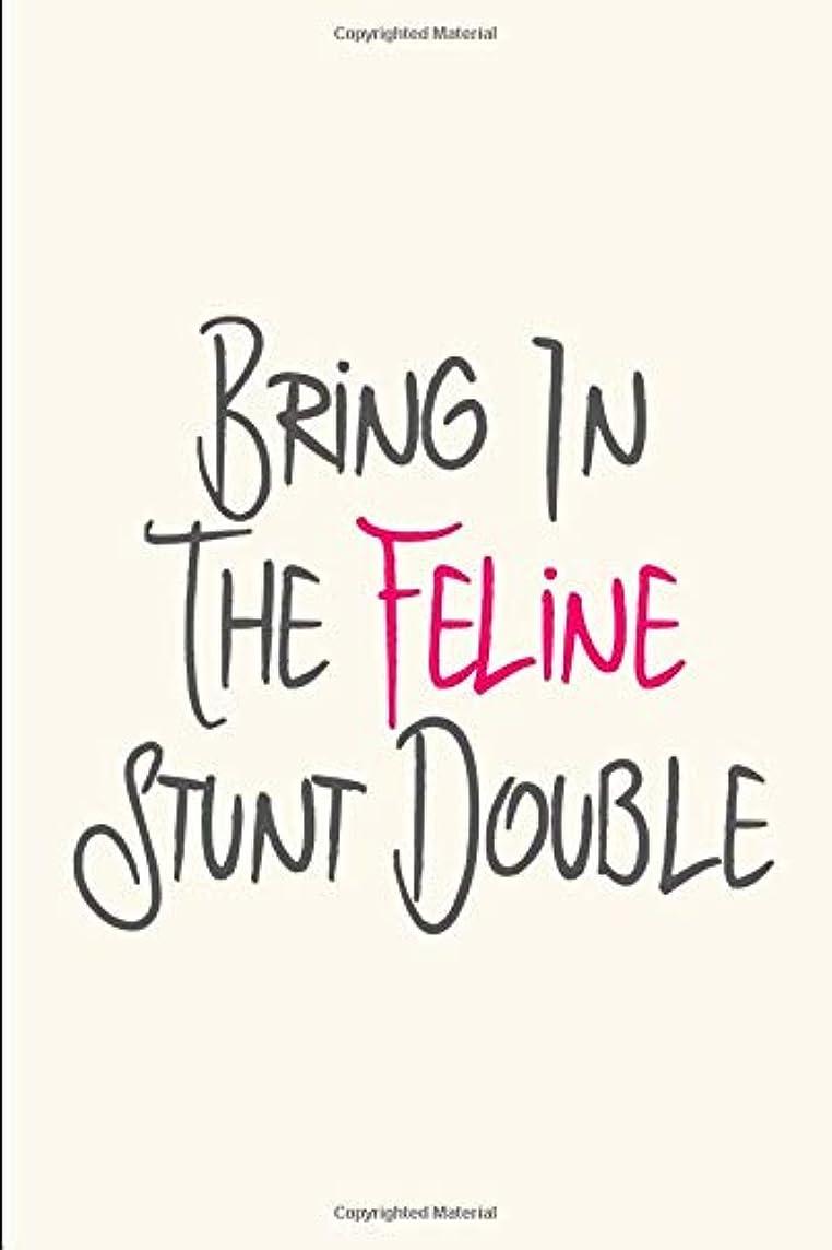 発明する音楽を聴く驚いたことにBring in the Catnip Pet Stunt Funny Quote Filmmakers College Ruled Notebook: Blank Lined Journal