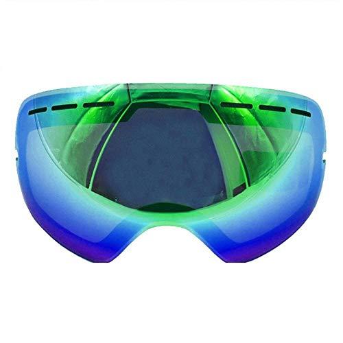Generieke skibrillens skibril lens anti-condens Uv400 Big sferische skibril sneeuwbril
