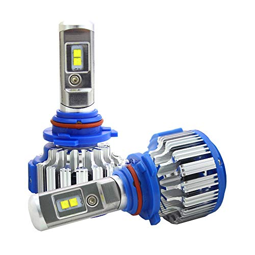 Faro de coche LED H1 H3 H4 H7 H8 H9 H11 9004 9005 9006 880 881 Lámpara de CANBUS LIGHT CANUQUE (Emitting Color : 6000K Cold White, Socket Type : H27/881)