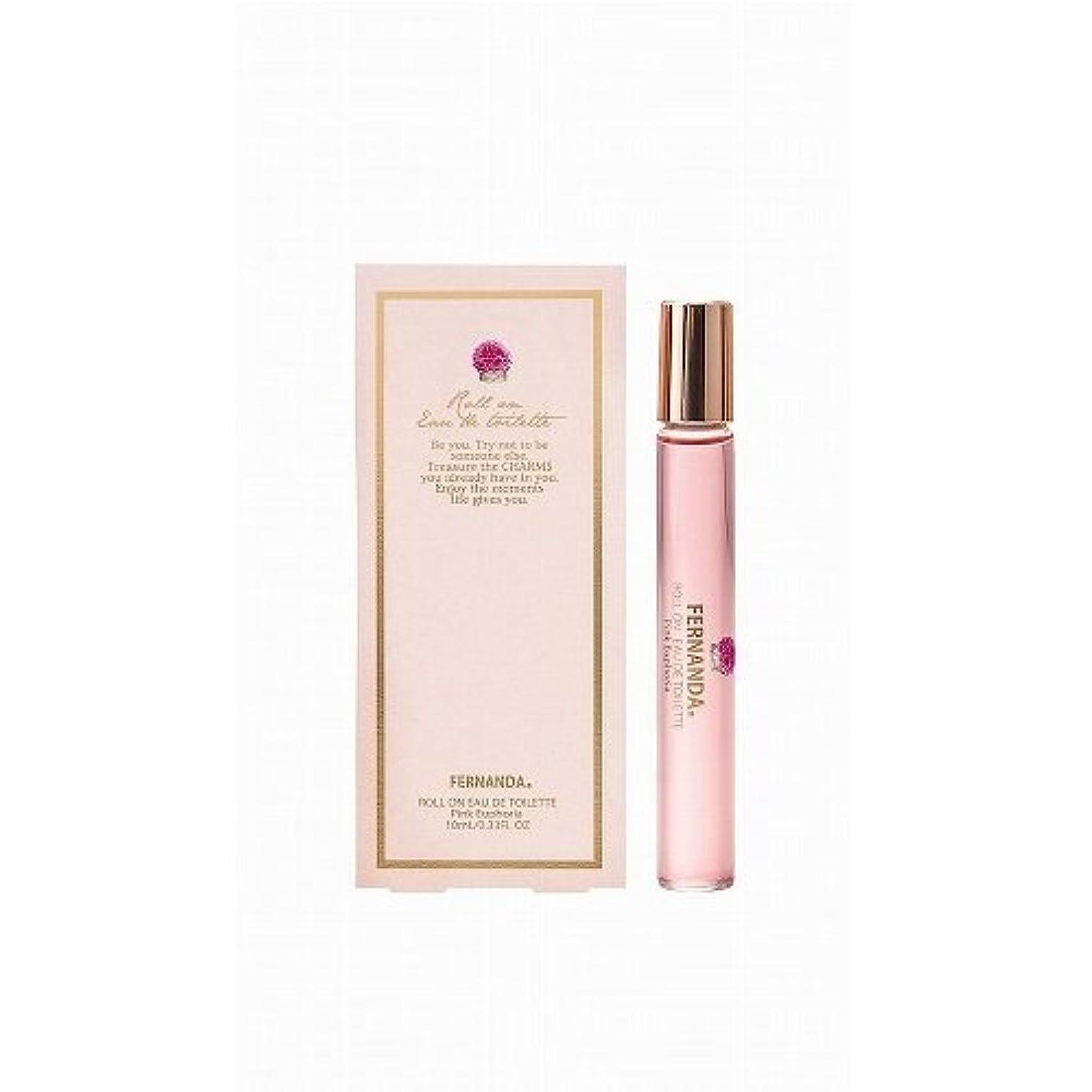 タクシースワップ持続するFERNANDA(フェルナンダ) Roll on Fragrance(オードトワレ) Pink Euphoria (ピンクエウフォリア)