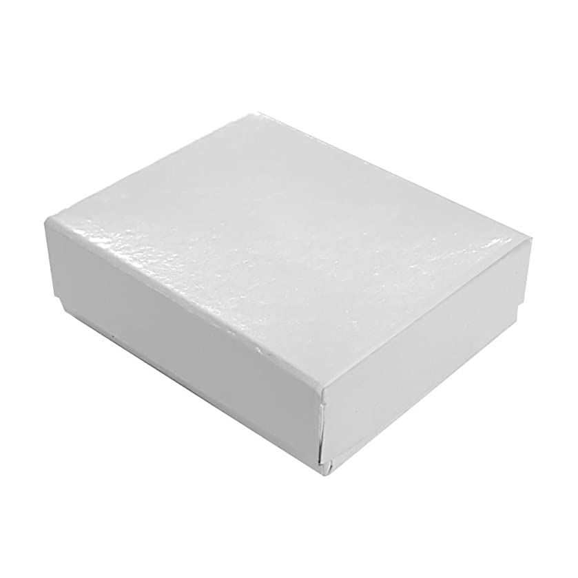 Glossy White Cotton Filled Box #11 (Case of 100)