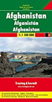 Afghanistan Road Map 1:1 100 000