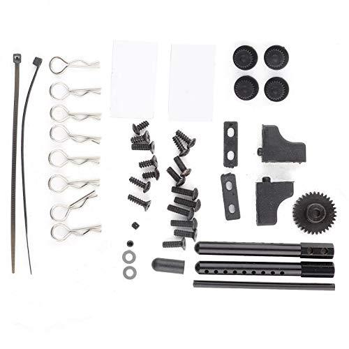 KUIDAMOS RC Drift Frame Durable 4WD con neumáticos Set 1/10 RC Part para ZD Racing Drift Car