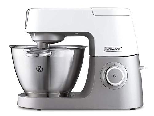 Kenwood Chef Sense KVC 5010T Küchenmaschine | Füllmenge 4,6 L | 3-teiliges Patisserie Set | 1.100 Watt | 3 motorbetriebene Zubehöranschlüsse