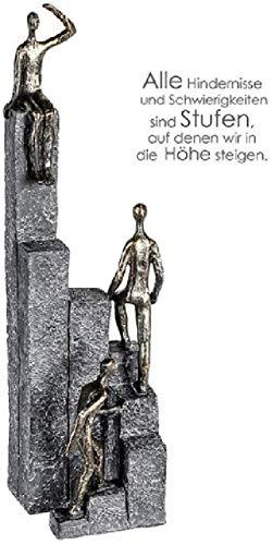 """Casablanca – """"Climbing – Sculptuur – Poly. Bronzen kleuren – (HxBxD) 39 x 10 x 11 cm"""