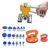 S-SNAIL-OO Kit De Reparación De Abolladuras Sin Pintura, Ventosa para Coche Abolladuras De Paragolpes, Eliminar Las Abolladuras De Coche, Moto, Lavaladora