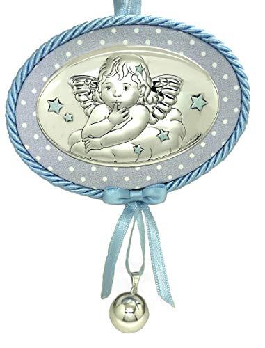 Medaglia musicale per culla o passeggino di Angelo custode é ciondolo di avvertimento di angeli custodi, incluso.