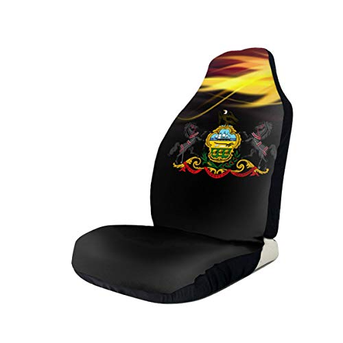 Learn More About Coat of Arms of Pennsylvania Car Seat Covers for Vehicles Universal 3D Printing Car...
