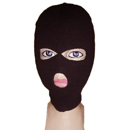PARTY DISCOUNT Maske Ninja / Hut Sturmhaube / Gangster