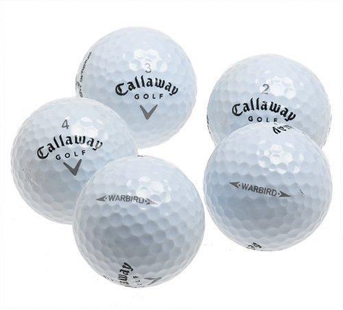 Callaway Warbird Plus Mint Refinished Golf Balls