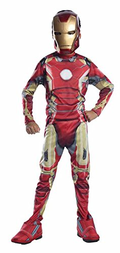 Rubie's IT610436-S - Costume Iron Man Avengers 2 Classic, Taglia S