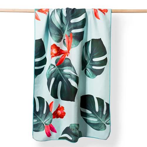 YOGALABS Premium Mikrofaser Handtuch   schnelltrocknend, leicht, saugfähig   Strandtuch, Yoga-Handtuch, Reise-Handtuch   ideal für Fitness, Yoga, Sport, Sauna & Camping   183 x 76cm