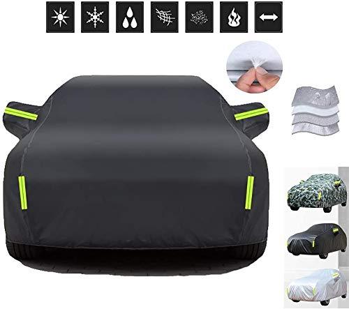 Cubiertas de coche compatible con la cubierta del coche de Honda CR-V, la lluvia a prueba de aislamiento de calor de la prueba del viento anti sucia cubierta del coche, modelos personalizados y Logo