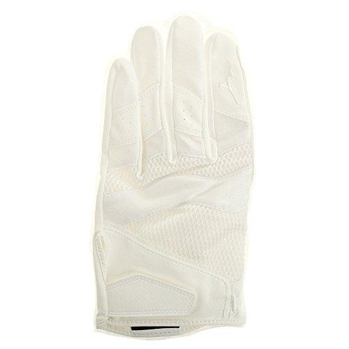 ミズノ(MIZUNO) ミズノプロ 守備手袋 ホワイト