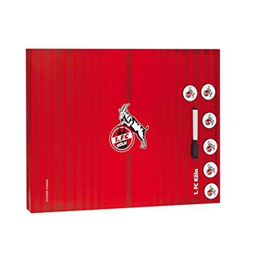 Brauns 1. FC Köln Memoboard, weiss-rot, 30200