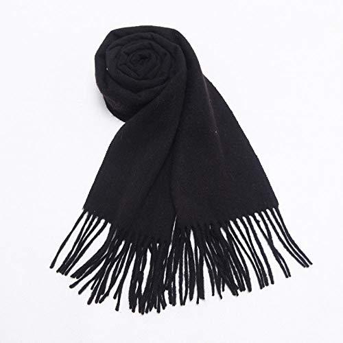 QFYD FDEYL Damen Long Wool Schal,Écharpe Rouge en Cachemire, écharpe Longue chaude...