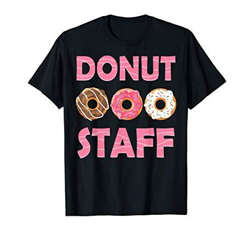 Donut taff Birthday Party Doughnut Lover T-Shirt T-Shirt