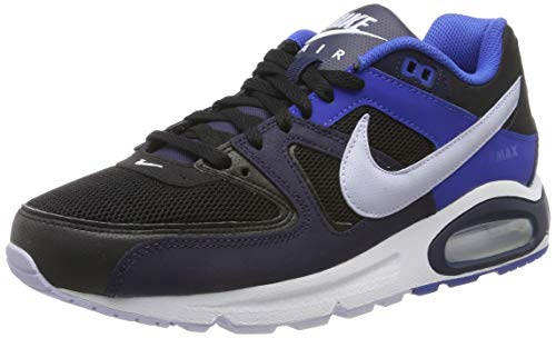 Nike Herren AIR MAX Command Laufschuhe, Schwarz (Black/Ghost/Blackened Blue/Game Royal/White 048), 44 EU