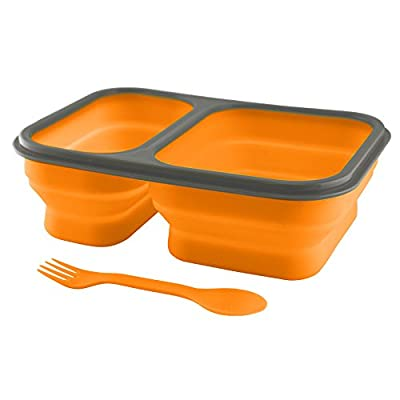 UST FlexWare Collapsible BPA-Free Mess Kit 1.0, Orange