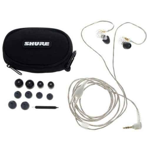 Shure SE-215CL Auricolari In-Ear Trasparente