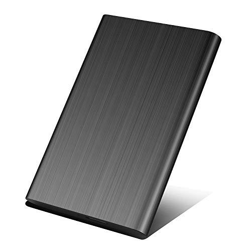 Hard Disk Esterno 1tb Portatile USB3.0 SATA HDD Storage per PC, Mac, Desktop, Laptop, MacBook, Chromebook