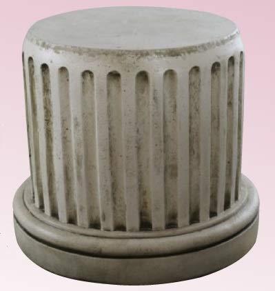 DEGARDEN Pedestal Columna de hormigón-Piedra para jardín o Exterior 50X55cm.
