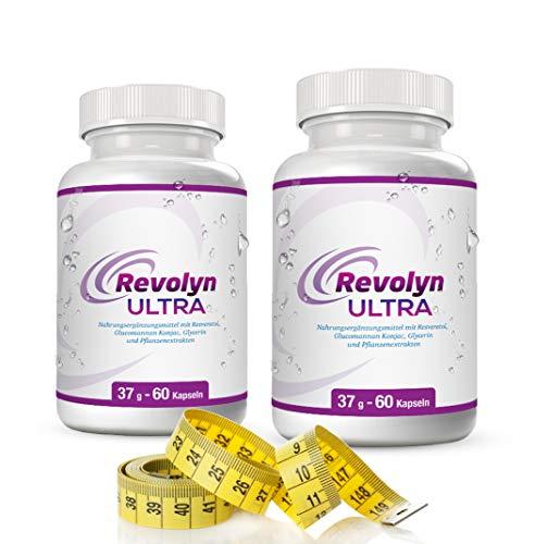 Revolyn Ultra - Die ultimative Diätpille für gesundes, schnelles und effektives Abnehmen - 2 Flaschen-Paket mit Rabatt kaufen | (2 Flaschen)