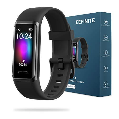 EEFINITE Fitness Tracker with Alexa Built-in, 5ATM Waterproof Activity...