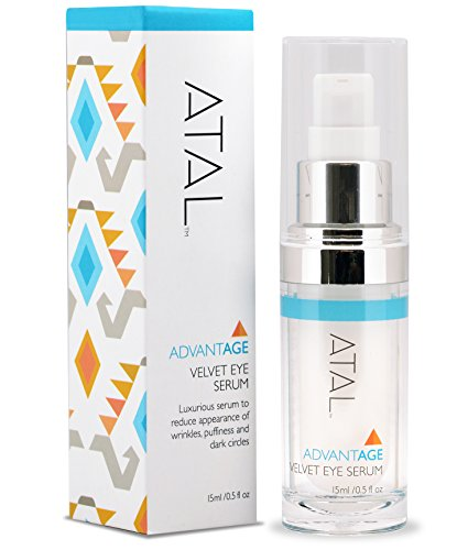 Premium Eye Serum for Puffiness, Dark Circles, Wrinkles - Best Anti Aging Eye Cream Treatment - Firms & Hydrates– Peptides, Plant Stem Cells, Licorice -Absorbent, Non Greasy, Fragrance Free