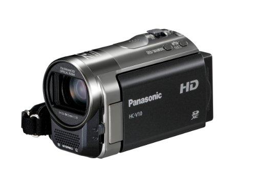 Panasonic HC-V10EG-K Videocamera, Nero