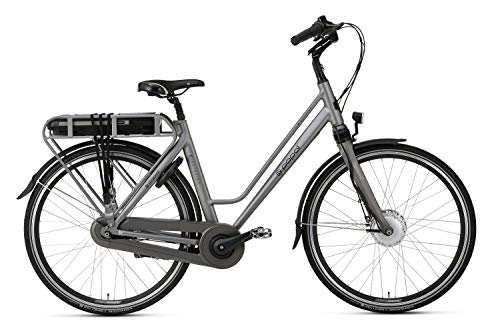 Popal E-Volution 10.2 Elektrische damesfiets in de framematen 47cm en 53cm in de kleuren Matt Blue en Space Grey