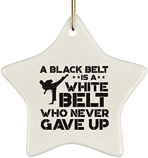 Best black belt karate christmas ornament Reviews