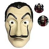Salvador Dali Máscara Money Heist The Paper House La Casa De Papel Cosplay Halloween Máscara