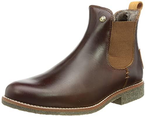 Preisvergleich Produktbild Panama Jack Damen Giordana Igloo Trav Chelsea-Stiefel,  Bark B002